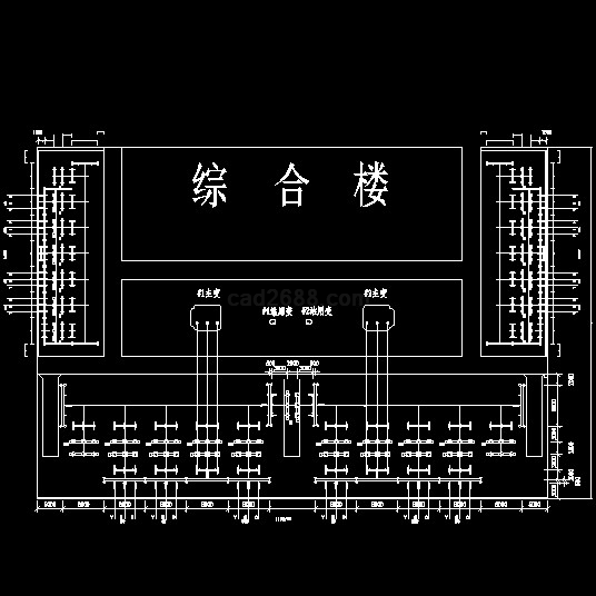 110kv变电站电气主接线cad图