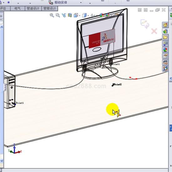 solidworks电线线路设计范例